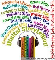 """Digital storytelling resources and a wonderful """"cybrarian"""" blog. repinned by #PediaStaff.  Visit http://ht.ly/63sNt for all our pediatric therapy pins"""