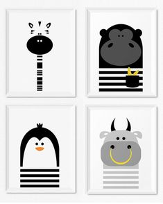 Animal Nursery Prints, Instant Download Nursery Art, Printable Nursery, Download Art, Kids Prints, Animal Prints, Kids Art, Neutral Nursery, Digital Printable, Illustrated Art Print … #sun #Terracotta Art, #Abstract #Art #Boho #Brown  #Century #Digital #DigitalArt #Download #Gallery #Geometric #Mid #Modern #Neutral #Print #Rainbow #Set #sun #Terracotta #Wall #animal #animalprints #kidsart #blackandwhite #childrensart Kids Wall Decor, Boys Room Decor, Nursery Wall Decor, Art Wall Kids, Nursery Prints, Nursery Art, Wall Art Prints, Art For Kids, Wall Decorations