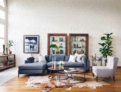 20 salas grandes e lindas para você se inspirar - limaonagua