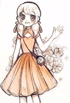 "mairinette: "" Marinette in a dress I want """