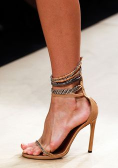 Isabel Marant spring 2012 #heels #chains