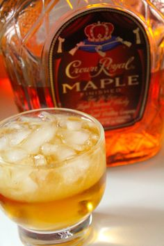 Crown Royal Maple and Apple Juice