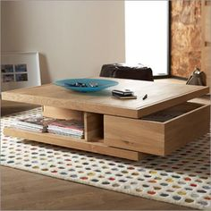 coffee table drawer e1306343696680 How to Choose the Perfect Coffee Table for your Home