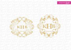 luxury wedding monogram -wedding logo-wedding crest-custom wedding monogram-signo-monograma-monograma de la boda-signo de la boda- by Linvit on Etsy