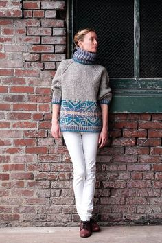 Ravelry: Nordic Pullover pattern by Tanis Gray