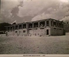 Beach House at Nelson Park 1960 Decatur Illinois   Photo by Herald &Review
