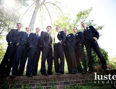 groomsmen photo @Confetti Studios