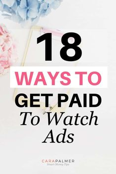 I'm going to show you how to earn money by watching ads. In fact, I've used a couple of the sites on this list to make a few extra bucks on my lunch breaks. Ways To Earn Money, Earn Money Online, Online Jobs, Make Money From Home, Money Tips, Way To Make Money, How To Make, Money Hacks, Watch Ad