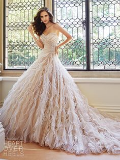 Sophia Tolli Spring 2015 Bridal Collection  Heart Over Heels