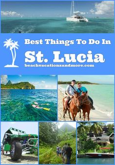 Top things to do in St. Lucia, a beautiful caribbean island