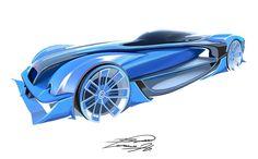 Bugatti LMG concept Type 57G Tank Hommage.  Designed by Guehun Lee.  instagram  : https://www.instagram.com/gyun.lee/