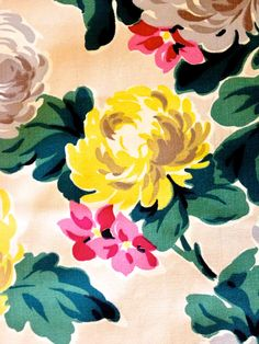 Spectacular Explosion of Vintage Mid Century Floral by KimberlyZ