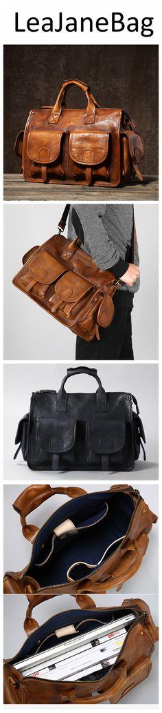 Leather briefcase men, Leather doctor bag, Vintage briefcase, Graduation gift GLT083 Briefcase For Men, Leather Briefcase, Leather Crossbody Bag, Leather Purses, Men's Leather, Purses For Sale, Leather Bags Handmade, Backpack Purse, Handbags On Sale