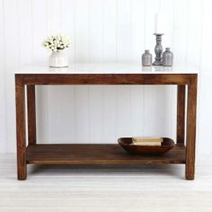 Cavendish bench with marble top- Provincial Home Living