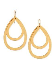 Stephanie Kantis PARIS DOUBLE DROP MEDIUM EARRINGS #Jewelry
