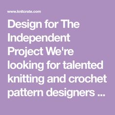 Design for The Independent Project