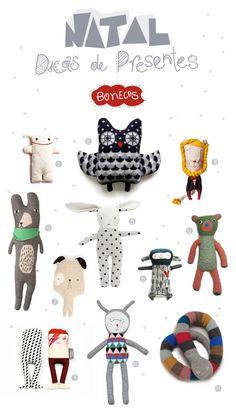 cute soft toys at Rebuçado Ácido - Bonecos