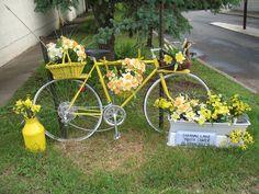 Bloomin' Bike by jbcurio, via Flickr