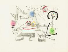 Available for sale from Christopher-Clark Fine Art, Joan Miró, Femme-Oiseau II Etching and aquatint, 13 × 18 in Joan Miro, Swedish Flower Hen, Create Words, Traditional Paintings, Design Art, Design Ideas, Body Art, Artwork, Fine Art