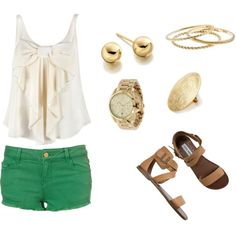 Summer Outfit, created by aew1998 on Polyvore
