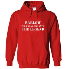 BARLOW, the woman, the myth, the legend