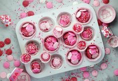 Two ingredients, no special skills or equipment and you've got a Valentine's Day treat that everyone will love! Wheat Free Baking, Easy Homemade Snacks, Chocolate Work, Valentines Day Treats, Edible Gifts, Candy Melts, 2 Ingredients, Fun Desserts, Sweet Treats