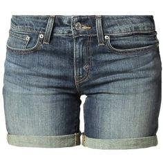 Levi's® NEW CONTEMP BLOCK Denim shorts state of mind (61 AUD) ❤ liked on Polyvore