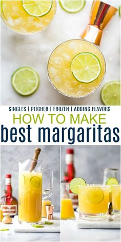 How to make the Ultimate Margarita Recipe with only 5 ingredients! Everything you need to know about margaritas - how to make a single serving, a pitcher for a crowd, frozen margaritas, what tools you'll need and how to add flavors! This easy cocktail recipe is a winner every time! #classicmargarita #easymargaritarecipe #homemademargarita Ultimate Margarita Recipe, Pitcher Margarita Recipe, Classic Margarita Recipe, Easy Margarita Recipe, Margarita Recipes, Homemade Margaritas, Frozen Margaritas, How To Make Margaritas, Recipes Kids Can Make