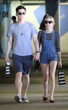 Back On! Emma Roberts and Evan Peters Spotted Holding Hands Almost 3 Months After Ending Engagement  Emma Roberts, Evan Peters