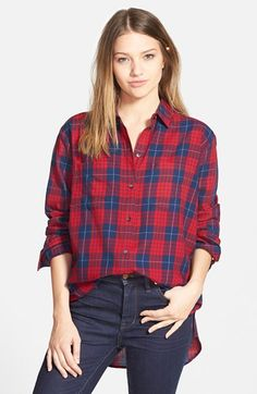 Madewell Oversize Shirt available at #Nordstrom