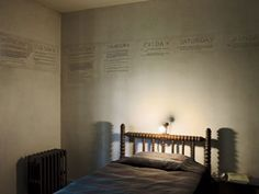Pulitzer Prize Winning Writer Used Walls for Notetaking | Apartment Therapy