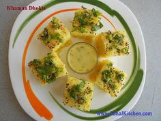 spongy khaman dhokla http://sonalkitchen.com/spongy-khaman-dhokla/907/