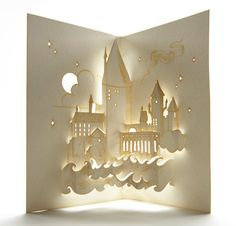 Hogwarts Pop-up Card