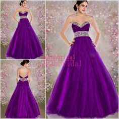 2015 Long Purple Tulle Prom Dresses Princess Style Wedding Evening Gowns For Military Marine Ball Dance Sale Cheap Plus Size Robe De Soiree Online with $103.38/Piece on Sarahbridal's Store | DHgate.com