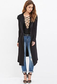 Faux Fur-Lined Jacket   Forever 21 - 2000156759