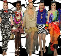 Love Christian Lacroix...love his neo-baroque thing he has going on...