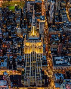 Empire State Building...best time to visit as dusk fall and lights come on....amazing!!!