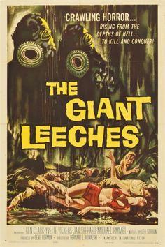 85771: The Giant Leeches (American International, : Lot 85771