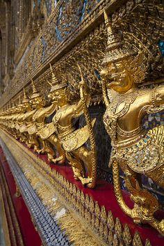 Emerald Buddha Demons . Thailand