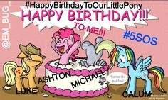 HAPPY 19th BIRTHDAY TO ASHTON IRWIN!!! :D #HappyBirthdayToOurLittlePony #HappyBirthdayAshton #5SOSbirthday   Please Credit this picture... I made it :D