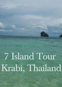 7 Island Tour Krabi Thailand