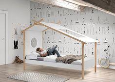 tolles Kinderbett Haus /Zelt fürs Kinderzimmer. Ob Junge oder Mädchen dieses Bett für Kinder überzeugt .
