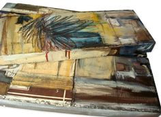 """""""I Was Afraid and so I Hid"""" Triptych stack 2"""