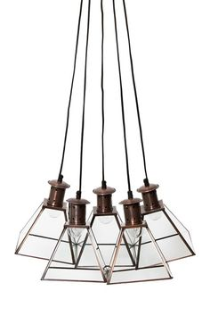 French Connection Prism pendant light