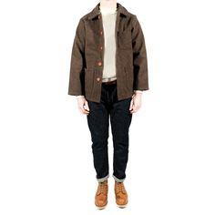 French workwear jacket by Le Laboureur : veste de travail le laboureur
