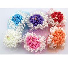 Handgefertigt Künstliche Chrysantheme Pe Schaumstoff Blumen Kopf Für Diy Hochzeit
