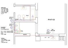 Pin de azqurra en plano agua pinterest agua y planos for Normas para planos arquitectonicos