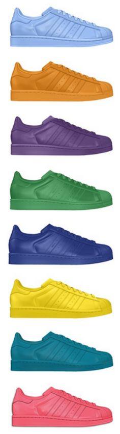 adidas Originals Superstar collection. #Supercolor #Casual