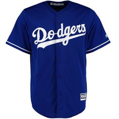 Men's Los Angeles Dodgers Majestic Royal Official Cool Base Alternate Jersey | MLB.com Shop