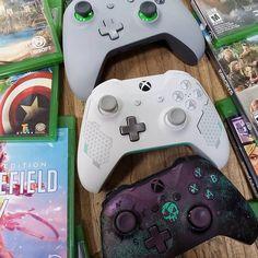 "Meu Xbox no Instagram: ""#meuxbox #xbox #xboxbr #xboxone #xboxcontroller #xboxbrasil 📸 @xboxunlocked"" Ps4, Playstation, Xbox One, Xbox Achievements, Consoles, Gamer Tags, Battlefield 5, Gamer 4 Life, Gaming Room Setup"